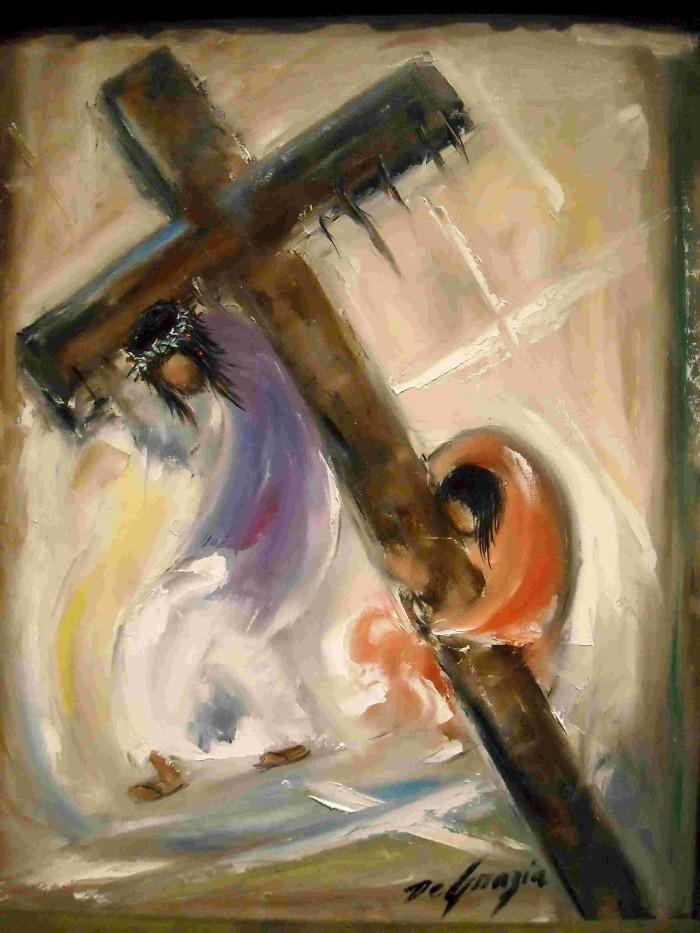 5-simon-of-cyreania-helps-jesus-carry-the-cross