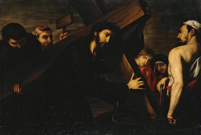 Carrying-of-the-Cross-Ribera, Jose de