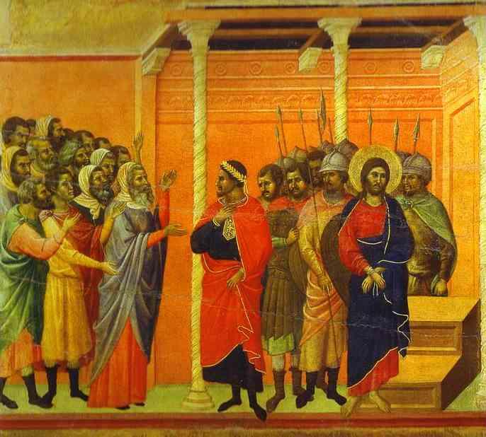 Duccio+di+Buoninsegna+-+MaestÓ+Jesus+Accused+by+the+Pharisees+