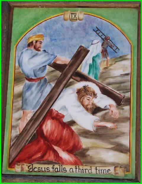 Jesus Falls the Third Time8
