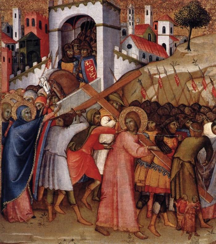 Jesus Meets His Mother 5