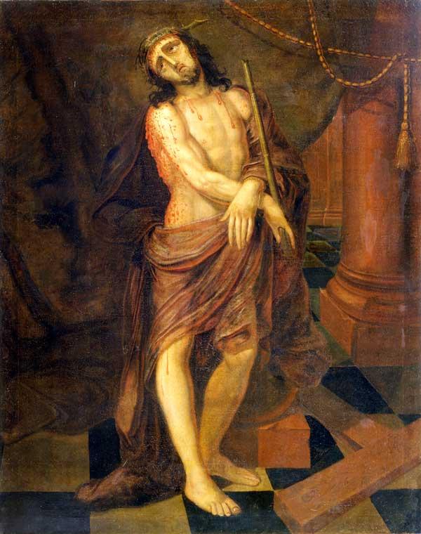 John Valentine Haidt, Christ Scourged, 175