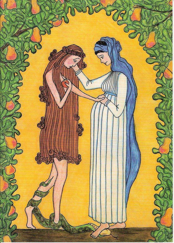 Mary (The New Eve) and Eve1