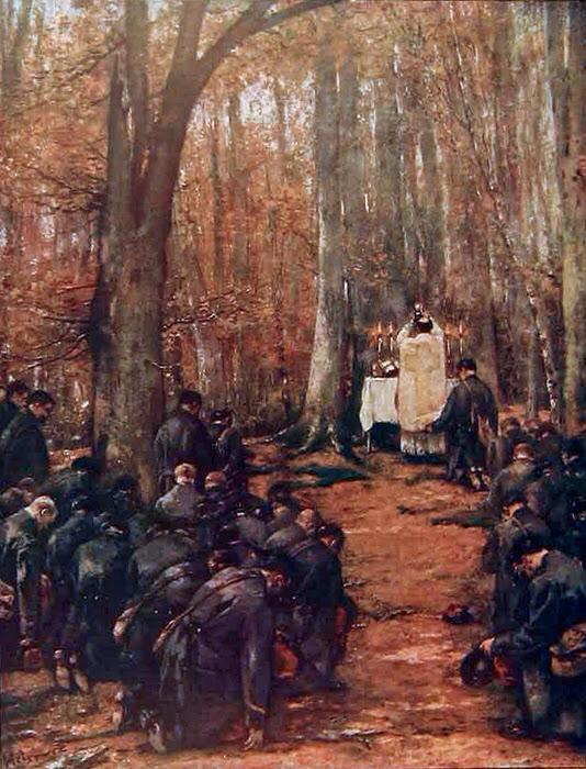 Mass in the Forrest 1