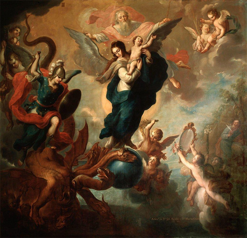Miguel Cabrera-The Virgin of the Apocalypse2