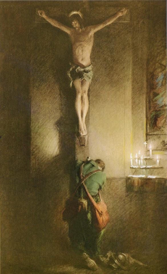 Praying A The Cross 10