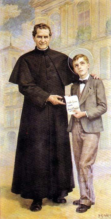 St. John Bosco and St. Dominic Savio 2