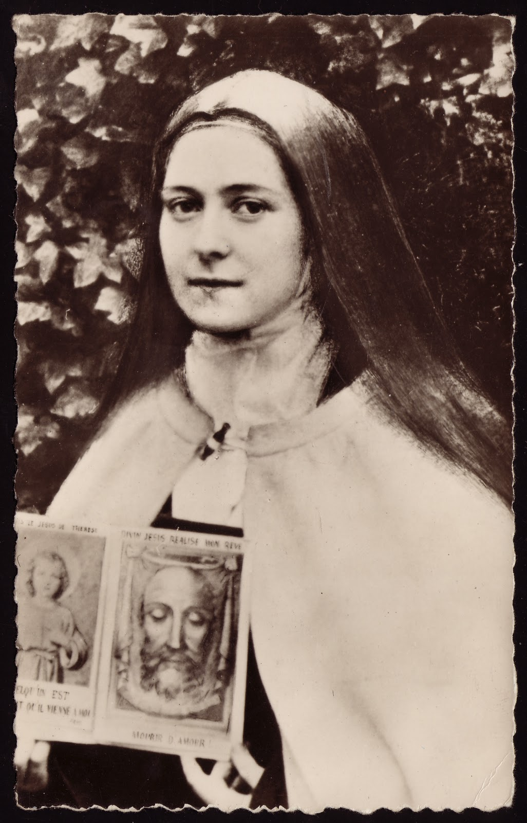 St. Therese- Holy Face and Child Jesus
