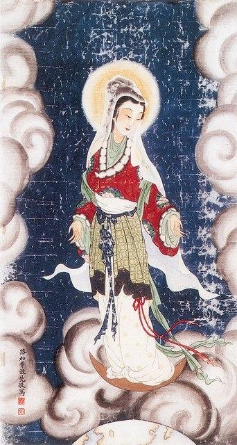 Virgin Mary Chinese Art