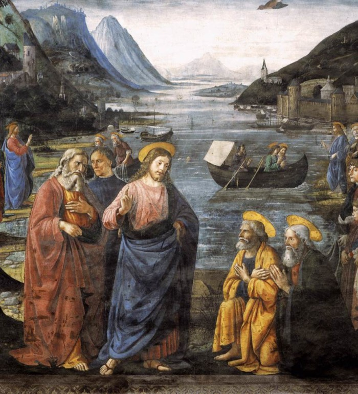 calling-of-the-apostles-domenico-ghirlandaio