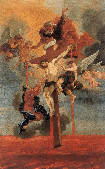 Bernini Cross:Precious Blood