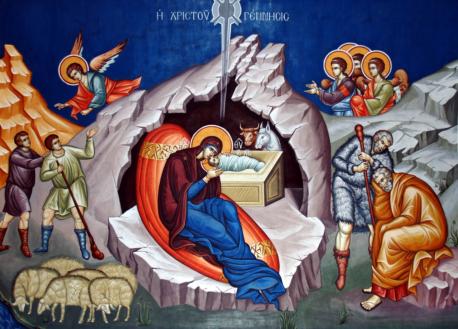 Christ Within The Cave-Manger1