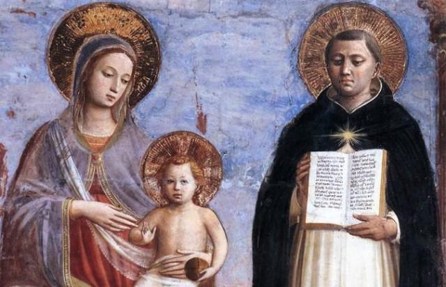 St. Thomas Aquinas and BVM12