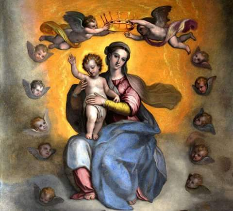 Blessed Virgin Mary With Christ Child2