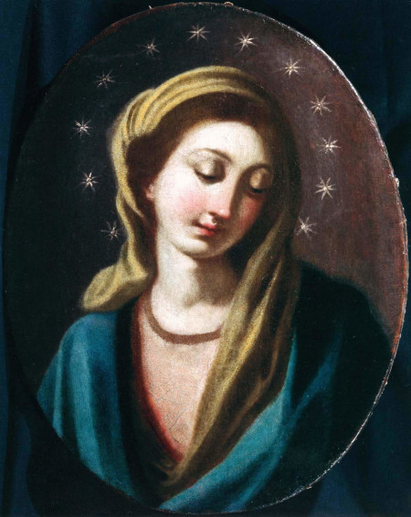 St. Alphonsus painted this beautiful image of Our Lady