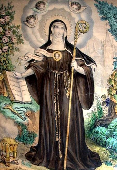 St. Gertrudis of Helfta