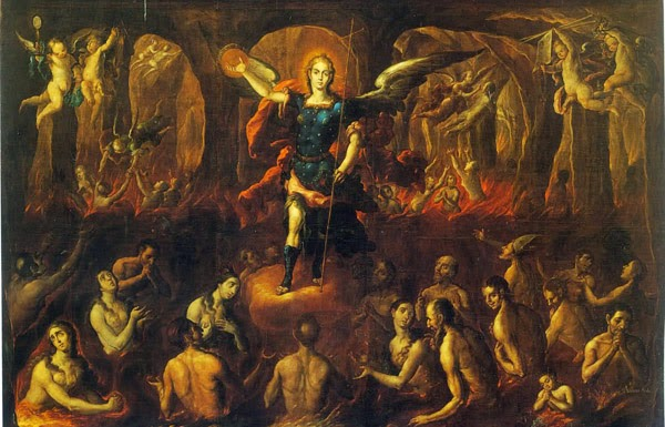 St. Michael the Archangel and the Souls in Purgatory