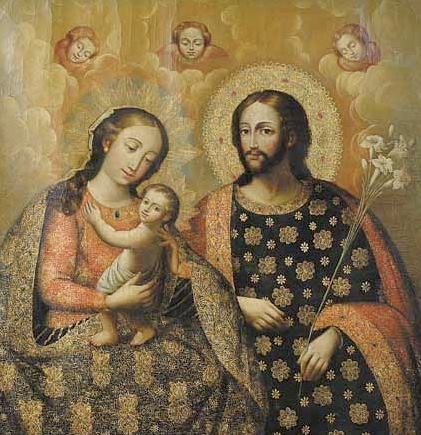 The Holy Family 12