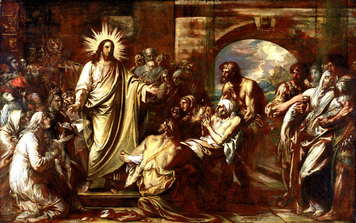 Christ Healing The Sick 2