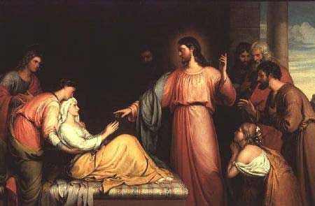Christ Rasing The Young Girl From The Dead I