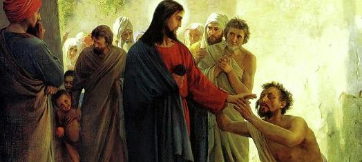 Jesus Healing The Sick 4